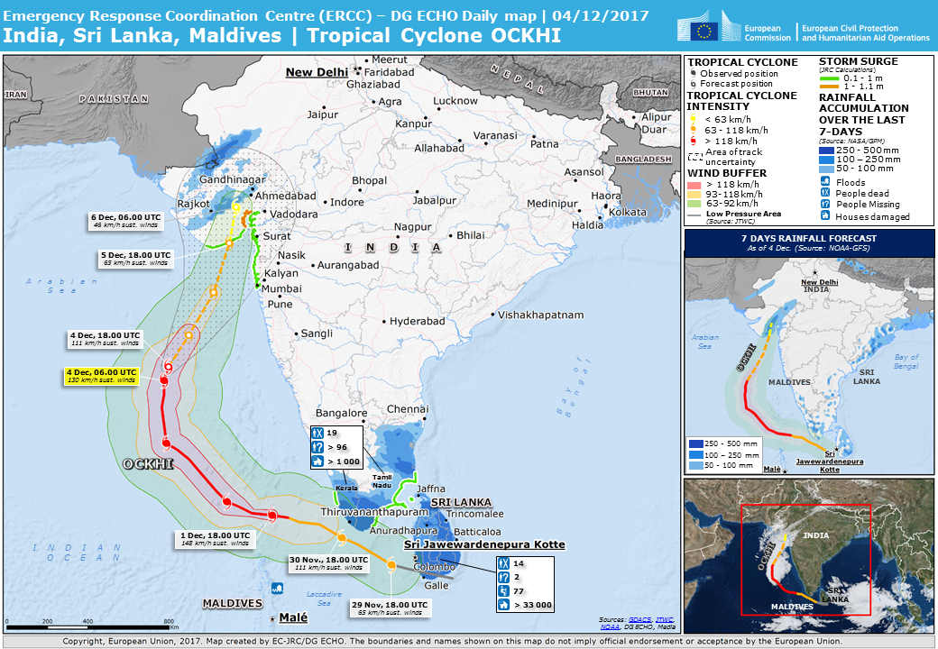 Overall orange tropical cyclone alert for ockhi 17 in india india sri lanka tropical cyclone ockhi update gumiabroncs Image collections