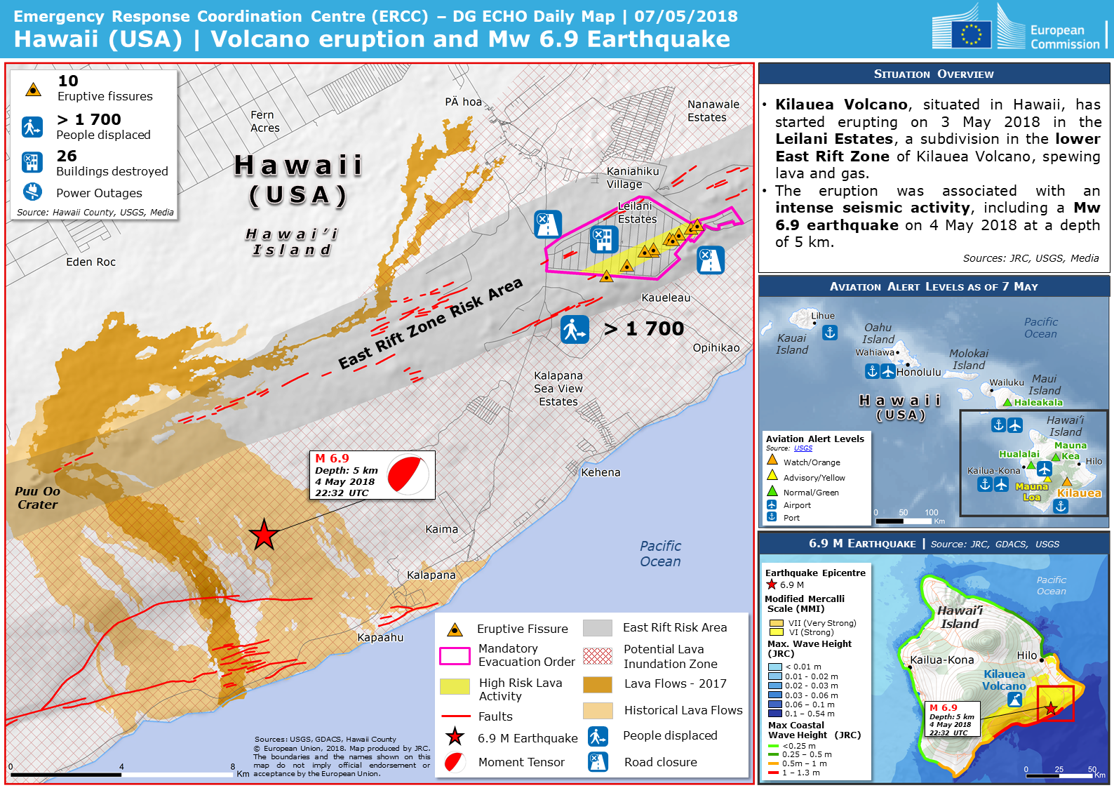 Overall Orange Volcanic eruption alert for Kilauea in United States on kauai map us, pearl harbor map us, united states map us, honolulu map us, los angeles map us, volcano map us, san diego map us, anchorage map us, san francisco map us, washington map us, philadelphia map us, chicago map us, california map us, cleveland map us,