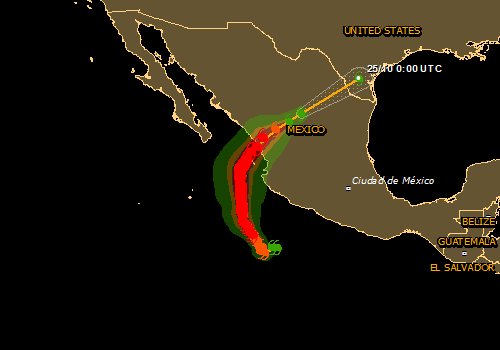 Overall Red Tropical Cyclone alert for WILLA-18 in Mexico from 20