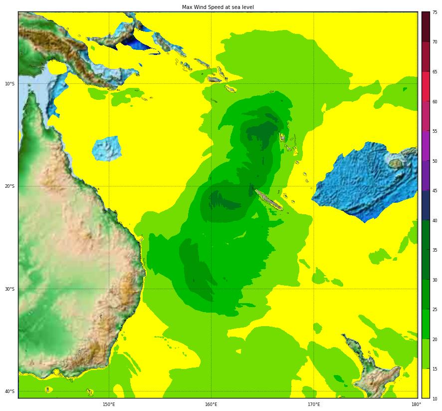 Overall Green Tropical Cyclone alert for OMA-19 in New