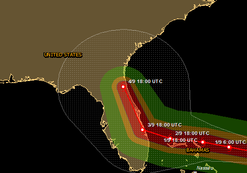 Overall Orange Tropical Cyclone alert for DORIAN-19 in